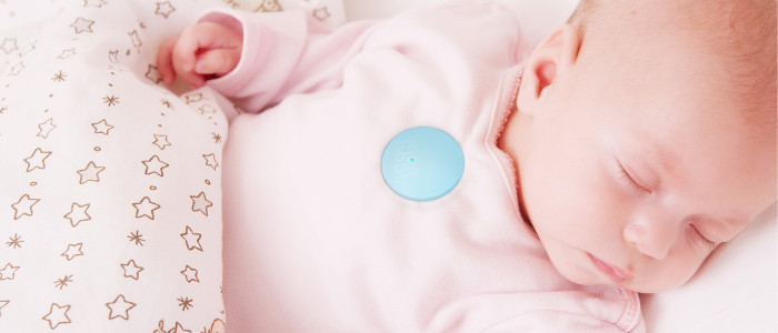 Baby-Wearable als Smart Button: MonBaby